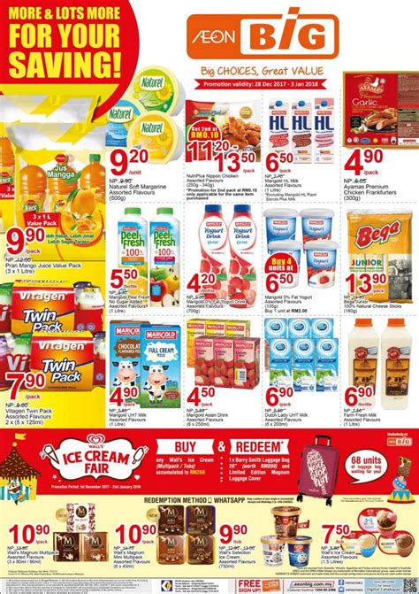 aeon new year promotion aeon big new year promotion 28 december 2017 3 january