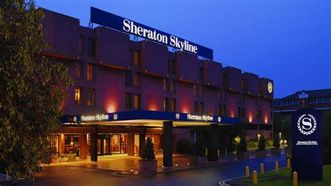qatar airways buys sheraton skyline hotel  london