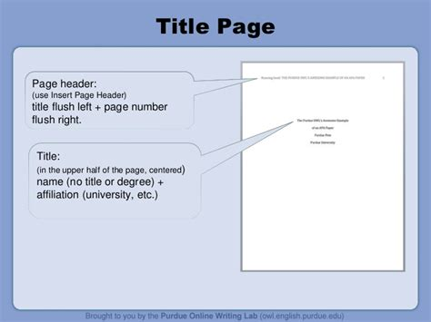 apa format without title page apa powerpoint