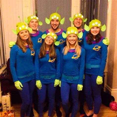 aliens  toy story cheap halloween group costumes