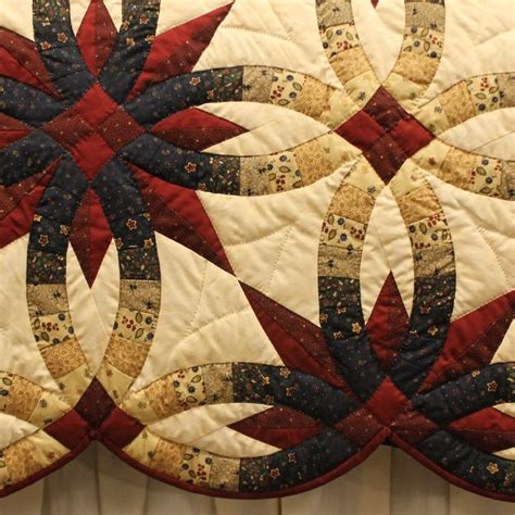 wedding ring quilt for sale wedding ring quilt for sale family farm handcrafts
