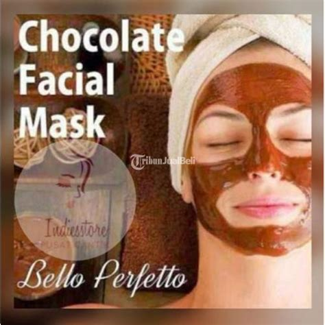 Masker Choco Bello Perfetto Sachet masker wajah coklat bello perfecto chocolate mask penirus wajah jakarta dijual tribun