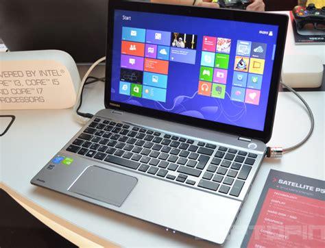 toshiba satellite p  mid range  laptop specs