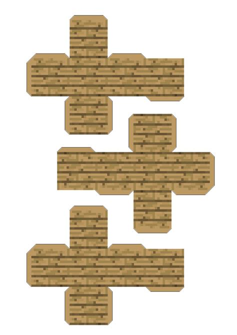 Minecraft Papercraft Wooden Planks - papercraft minecraft wood www imgkid the image kid