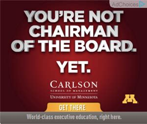 Carlson Mba Cost by How Higher Education Programs Use Display Ads To Drive
