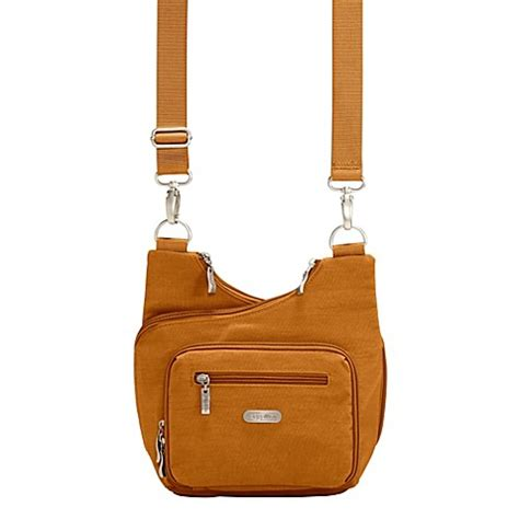 baggallini bed bath and beyond buy baggallini criss cross bagg in butterscotch from bed bath beyond