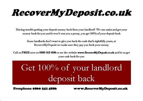 Renters Deposit Uk Do You If Your Rent Deposit Is Safe