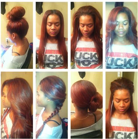 versatile sew in weave with sassy mitchell hair styled by versatile sew in sew ins and sew on pinterest