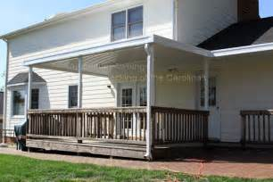 Awning For Deck Aluminum Awnings Residential Deck Covers Nc Amp Sc