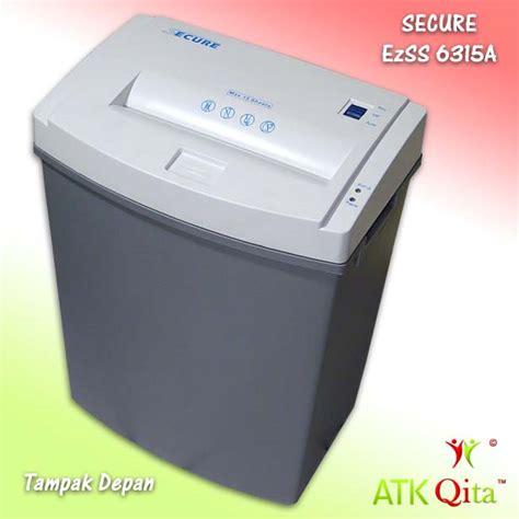 Penghancur Kertas Secure secure paper shredder ezss 6315a daftar update harga terbaru indonesia