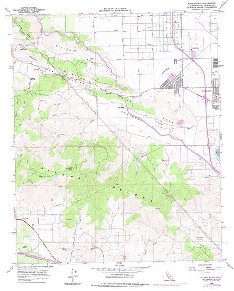 usgs maps california ritter ridge topographic map ca usgs topo 34118e2