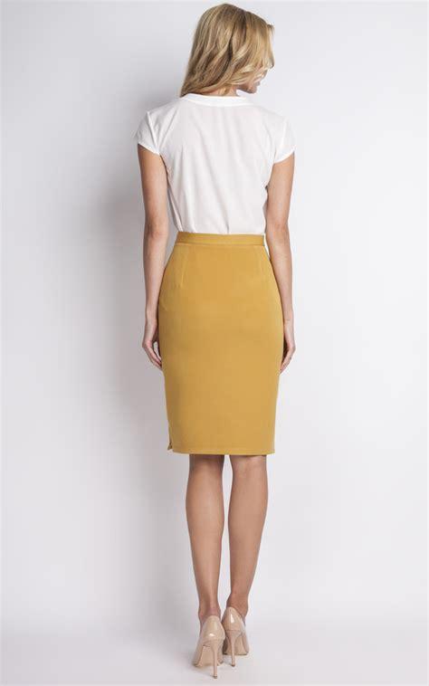 Sale Skirt Uk 2 3 Th Rok Anak Cewek Rok Anak Murah Skirt mustard midi skirt silkfred