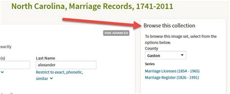 Checking Marriage Records Carolina County Marriage Records Ancestry