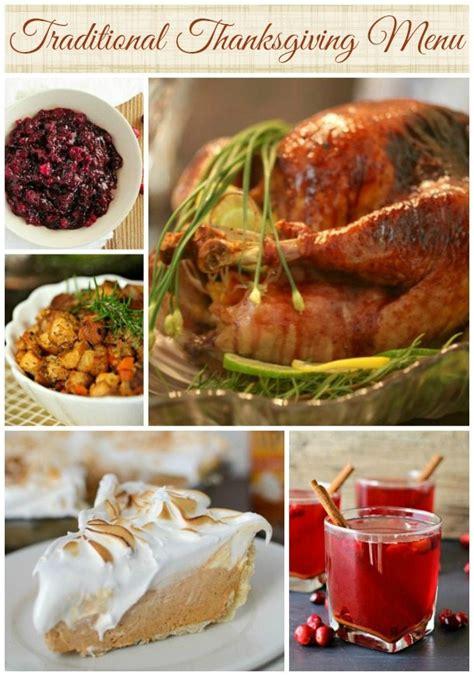 Traditional Thanksgiving Menu Ideas Wonkywonderful Classic Buffet Dinner Ideas