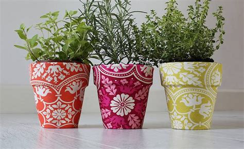 Handmade Flower Pots - handmade flower pots make the best gifts amazing house