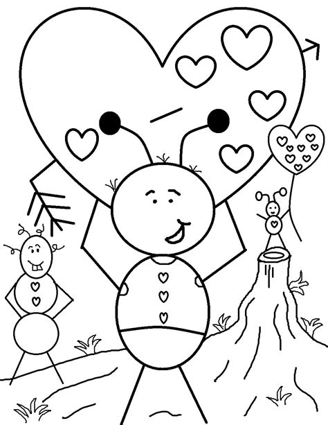 Free Printable Valentine Coloring Pages For Kids Free Printable Coloring Pages For Valentines Day