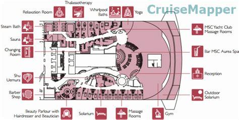 Msc Divina Room Plan by Msc Divina Deck 14 Plan Cruisemapper