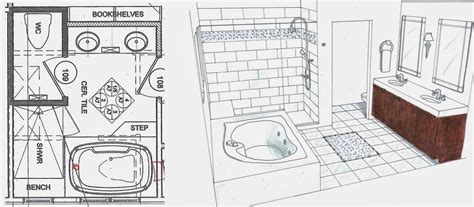 How To Design A Bathroom Floor Plan Fiorito Interior Design The Luxury Bathroom By Fiorito