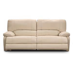 Power Recliner Sofa Leather Coronado Leather Power Reclining Sofa Value City Furniture