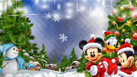 wallpaper de natal disney mickeys natal aldeia hd de parede do desktop widescreen