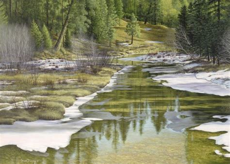 Landscape Paintings Realism Realism Landscape Painting Www Imgkid The Image