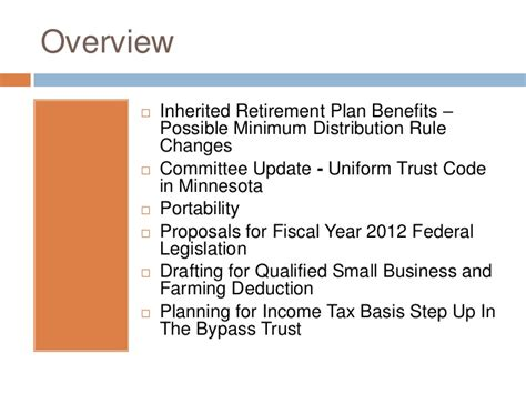 irc section 1014 2011 2012 estate planning update