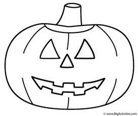 o lantern templates printable pumpkin o lantern coloring page