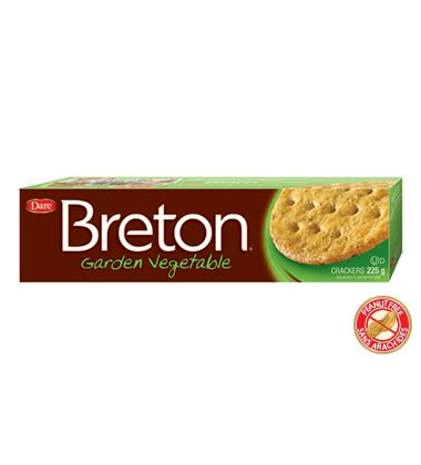 Breton Garden Vegetable Dare Foods Wheat Thins Garden Vegetable