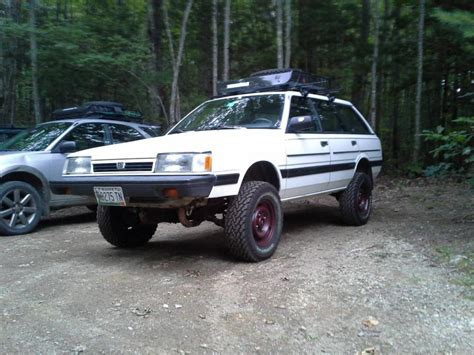 lifted subaru loyale 1990 subaru loyale information and photos momentcar