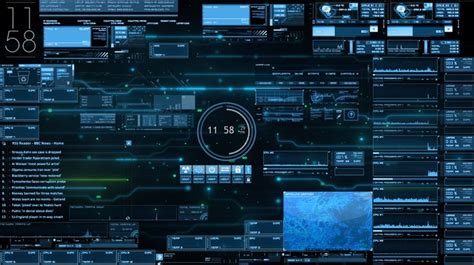 jarvis rainmeter desktop  akatsuki blast