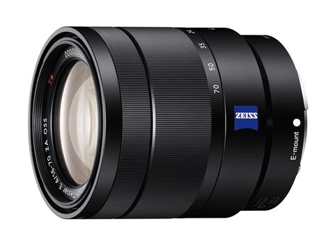 Lensa Sony Zeiss 16 70 F4 Oss sony launches zeiss 16 70mm f4 oss 18 105mm f4 g and black 50mm f1 8 e mount lenses digital