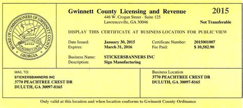Georgia Id Template Pictures To Pin On Pinterest Pinsdaddy Free Business License Template