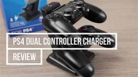 Ps4 Dual Controller Charger Review Youtube