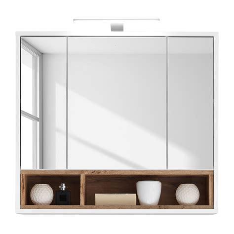 spiegelschrank wildeiche spiegelschrank guardo inkl beleuchtung wei 223 wildeiche