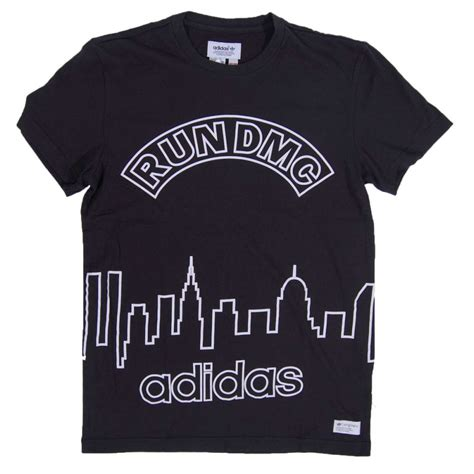 T Shirt Run Dmc Adidas adidas originals graphic t shirt run dmc black mens t