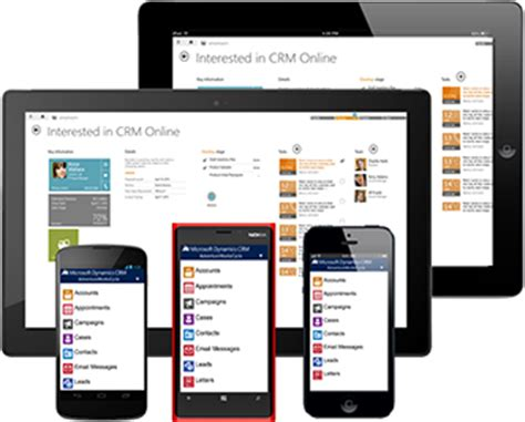 microsoft crm mobile app microsoft dynamics crm mobile