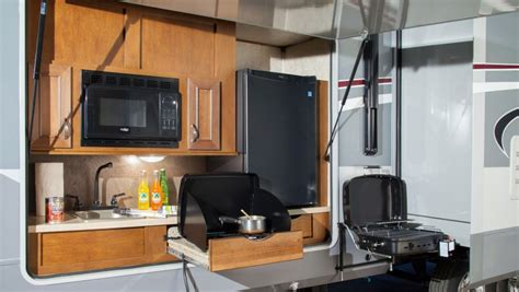 Lacrosse Rv Floor Plans 10 rvs with amazing outdoor entertaining amp kitchens