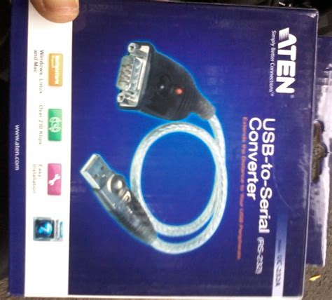 Converter Usb To Rs232 Aten jual kabel serial to usb rs232 db9 merk aten usb to serial
