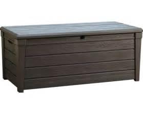 keter gartenmöbel fixias gartenbank kunststoff mit kissenbox 012304