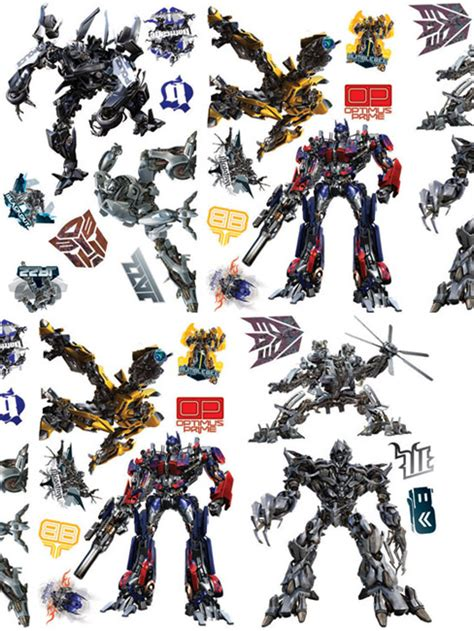 transformers wall stickers transformers stickers pictures to pin on pinsdaddy
