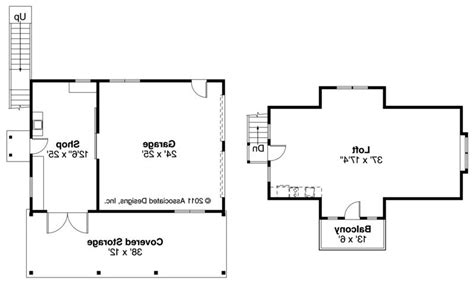 2 car garage floor plans craftsman house plans 2 car garage w loft 20 077