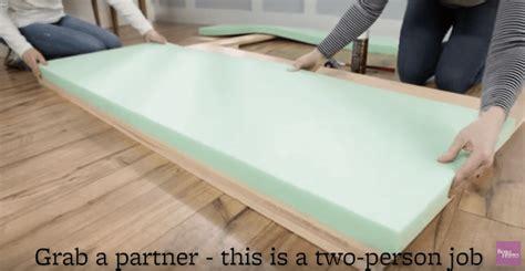 foam headboard diy how to make a simple diy upholstered headboard elite rest