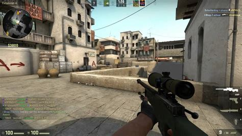 linux cs go gameplay cs go competitive 2 with vikkstar123 counter strike