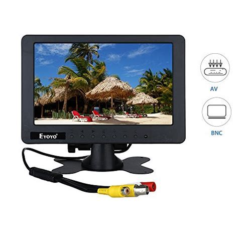 monitor con ingresso bnc cctv monitorrisoluzione display portibile con bnc av dc ac