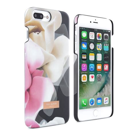 Hardcase Iphone 66s Tedbaker Hardcase For Iphone 66s proporta ted baker annotei shell porcelain black iphone 8 7 plus cases protectors