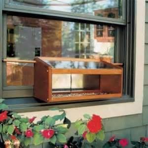 coveside mirrored windowsill bird feeder window birdfeeder