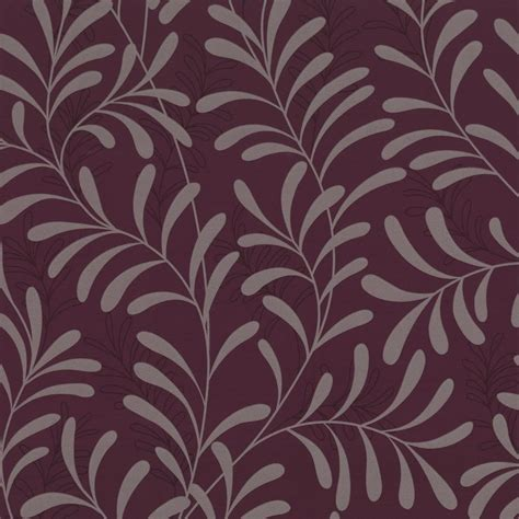 Buy graham and brown moment wallpaper damson purple plum silver