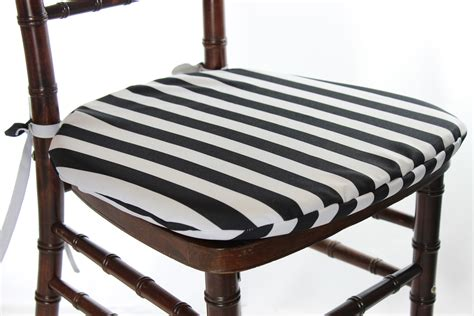 Black White Stripe Outdoor Chair Cushions   Indoor Outdoor