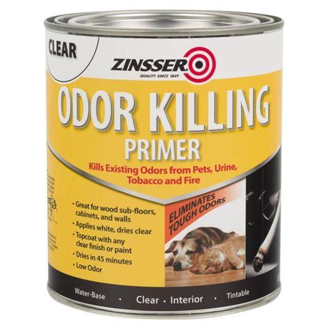 home depot zinsser paint zinsser 1 qt odor killing primer 4 pack 307648 the