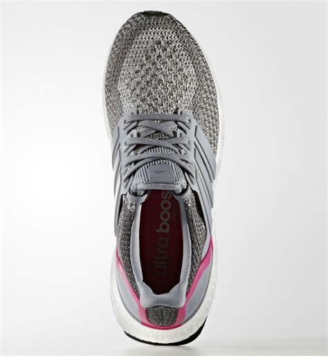 Adidas Ultra 2 adidas ultra boost grey shock pink sole collector